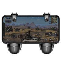 Baseus Mobile Gamepad Spiel Controller Zielauslöser L1R1 Extra Schaltfläche Bumper für Smartphone für Spieler Gamer Zocker Android iOS in Schwarz