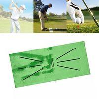 30x60cm Golf Trainingsmatte für Swing, Detection Batting, Golf Übungstraining Hilfsausrüstung