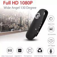 Mini-Kamera Full HD 1080P Mini-Handkamera Polizei-Videorecorder Body Cam Motorrad Fahrrad Sport Body Camera Mini-Kamera