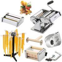GEFU XXL Pasta-Set 28300 Pasta Perfetta deluxe Nudelmaschine, 28220 Elektromotor und 28360 Pastatrockner