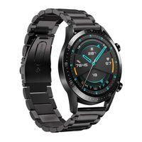 22mm Uhrenarmband Edelstahl Armband Armband Ersatz Ersatz Kompatibel mit HUAWEI WATCH GT2 46mm / HONOR MagicWatch2 46mm / HONOR MagicWatch