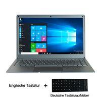 Laptop Jumper Notebook EZbook X3 Premium 33,8cm (13,3 Zoll), 8 GB RAM, 128 GB ROM, Windows 10 Home IPS-Display Dünner Metallgehäuse Intel N3450 2.4G / 5G WiFi Win10 für Office Home