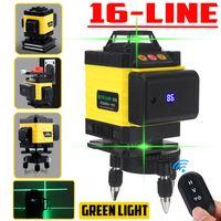 MECO 4D Laser Level 16 Lines Grünes Licht 360° Selbstnivellierend Kreuzlinienlaser