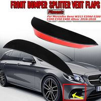 Stoßstange Splitter Spoiler Lippe AMG Schwarz für Mercedes E-Klasse W21 ***