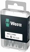 Wera 855/1 Z DIY Bits 855/1 Z PZ 10 x PZ 2x25; 05072404001