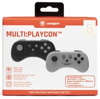 SNAKEBYTE MULTI PLAYCON BLACK AND GREY SWITCH & LITE Bow Playstation Analogue