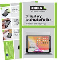 2x Apple iPad 10.2 Zoll (2019) Schutzfolie matt Displayschutzfolie Folie Display
