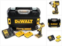 DeWalt DCF 887 D2 Akku Schlagschrauber 18V 205Nm 1/4' Brushless + 2x Akku 2,0Ah + Schnellladegerät + TSTAK