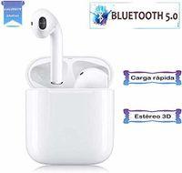 Bluetooth 5.0 Kopfhörer, I11-TWS Wireless Kopfhörer Touch Noise Cancelling 3D IPX5 Wasserdichte Stereo-Kopfhörer Eingebautes Mikrofon und Ladeetui Kopfhörer, für Apple / iPhone / Android / AirPods Pro