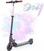 Elektro Scooter für Kinder, Faltbarer und Verstellbarer Elektroroller, Höchstgeschwindigkeit 20 km / h, Gewichtsbelastung bis 80 kg, Motor 150 W, Geschenke für Kinder und Jugendliche