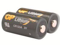 GP Battery 2 x CR123A - Li - 1400 mAh