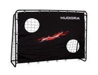Hudora Fußballtor Trainer mit Torwand 213x152x76cm Rahmen Ø25mm