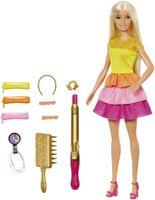 Barbie Locken-Style Puppe (blond)