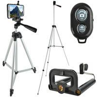 Dreibeinstativ-Set Handys Kameras fernsteuerbar Fernbedienung Selfies Bluetooth 6067