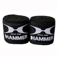 HAMMER BOXING  Trainingszubehör Boxbandagen, elastisch 2.5m - schwarz