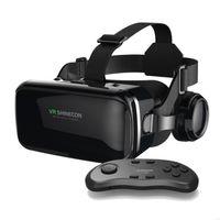 Original VR Shinecon 6.0 Standard Edition und Headset-Version Virtual Reality 3D VR-Brillen Headset-Helme mit Controller