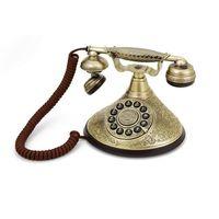 GPO Retro Duchess, Analoges Telefon, Kabelgebundenes Mobilteil, Schwarz, Bronze