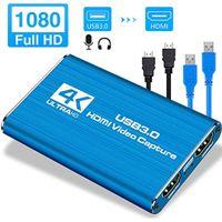 HDMI Video Capture Card 4K-Bildschirmaufnahme USB3.0 1080P 60FPS Game Capture Device