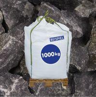 Gabionen Steine Basaltbruch anthrazit 40-70mm 1000kg BigBag