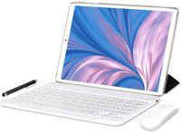 YOTOPT Tablets 10 Zoll mit Tastatur und Maus, Android 10.0 Octa-Core 1,6 GHz, 4G LTE Tablet, 4 GB RAM, 64 GB ROM, GPS / OTG / Bluetooth, N10, Farbe: Goden