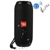 Mini Bluetooth Lautsprecher Soundbox Soundstation Musikbox Radio USB Tragbar Spritzwassergeschützt-Schwarz