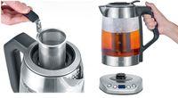 SEVERIN Tee- / Wasserkocher WK 3479 DELUXE Glas / Edelstahl