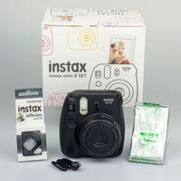 Fujifilm Instax Mini 8 Fun Set schwarz Sofortbild-Kameraset