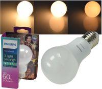 Philips LED Scene Switch E27 A60 E27 frozen warmweiß 60W