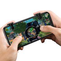 Baseus Red-Dot Mobile Game Scoring Tool Controller Zielauslöser L1R1 Schaltfläche Bumper für Smartphone für Spieler Gamer Zocker Android iOS in Transparent
