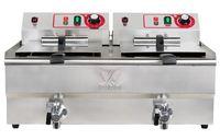 Beeketal Gastronomie Friteuse Fritteuse 400 V , Modell:BWF-162 400V