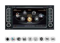 "7"" Touchscreen Android Autoradio GPS NAVI DVD für Volkswagen Touareg T5 Multivan"