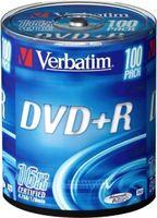 Verbatim DVD+R 16x 100er Spindel