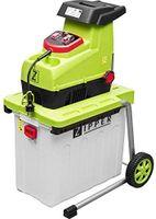 Zipper Häcksler Zi-Ghas2800 Silent Composter Chipper Gartenhäcksler 2800W