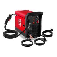 Stamos MIG/MAG Schweißgerät - 175 A - 230 V - Räder
