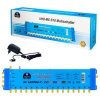 HB-DIGITAL Multischalter UHD-MS 5/16