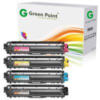 4 Toner kompatibel zu Brother TN-242 TN-246 für Brother HL-3142 3152 3172CDW DCP-9017 9022CDW MFC-9332 9342CDW - Schwarz 2.500 Seiten, Color je 2.200 Seiten