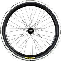 Galano Laufradsatz 29 Zoll Mountainbike Laufrad Fahrrad 29' x 1,95' Aluminium Kenda MTB, Farbe:schwarz, Ausführung:vorne