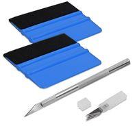 Folienrakel Set mit Präzisionsmesser