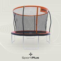SportPlus Gartentrampolin - Ø 305 cm, 366 cm - Randabdeckung, gepolsterte Stangen , Variante:Sprungmatte ca. 305cm