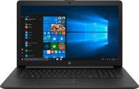 HP 17-by2205ng 43,9 cm (17,3 Zoll) HD+ Notebook, Intel Celeron N4020, Intel UHD Graphics 600, 8GB RAM, 1TB HDD, Windows 10, QWERTZ - Schwarz