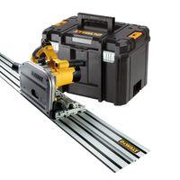 DeWALT DWS520KTR-QS Tauchkreissägen Set inkl. Führungsschiene 1500 mm + T-STAK-Box VI
