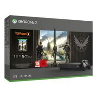 MS XBOX ONE X 1 TB THE DIVISION 2, Farbe:Schwarz