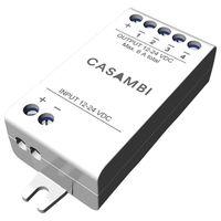 Casambi Technologies CBU-PWM4, Intelligenter dimmer, Extern, Kabellos, Weiß, IP20, 0,3 W
