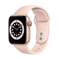 Apple Watch Series 6 GPS + Cell 40mm Gold Alu Pink Sport Band