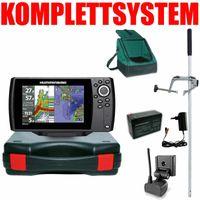 Humminbird Helix 7 Chirp GPS G3 Kartenplotter Echolot Portabel Master Edition Plus – Komplettsystem