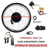 Wangkangyi 28 Elektro-Fahrrad Kit Hinterrad Ebike Elektrofahrrad Umbausatz Kit