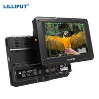 LILLIPUT H7 7-Zoll-4K-Ultra-Helligkeits-On-Camera-Monitor mit Full-HD-Aufloesung 1800nit Sonnenlicht Sichtbare 4K-HDMI-Eingangsausgangsunterstuetzung HDR-3D-LUT-Funktionen zum Aufnehmen von Fotos und Erstellen von Filmen