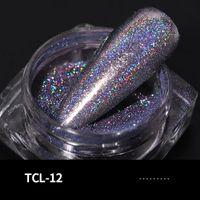 Rainbow Holographic Lase Powder Nagel Glitter Chrome Pigments Decoratio
