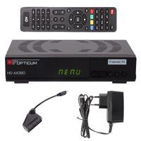 "RED Opticum HD AX360 HEVC H.265 ""Freenet TV""DVB-T/T2 Receiver"