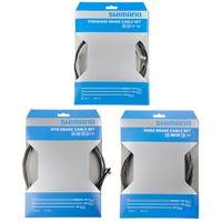 Shimano Bremszugset grau/schwarz Ausführung Road / MTB Standard-Stahl